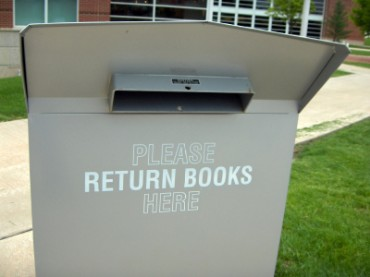 Library Book Return Box