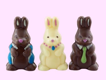 Chocolate Easter Bunny Candy