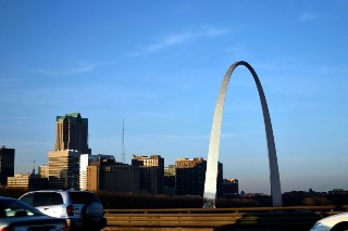 Gateway Arch in Saint Louis, Missouri
