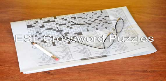 ESL Crossword Puzzles Banner