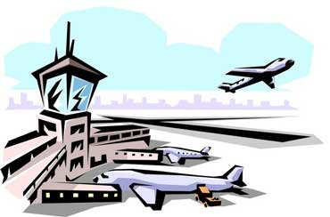 Airport with Planes