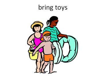 Pail and Inflatable Beach Toys