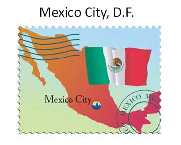 Map of Mexico City