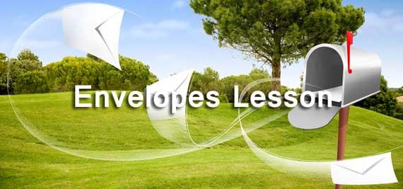 Envelopes Lesson