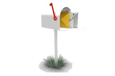 Receive Mail in Mailbox