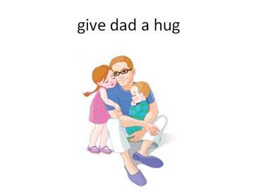 Give Dad a Hug