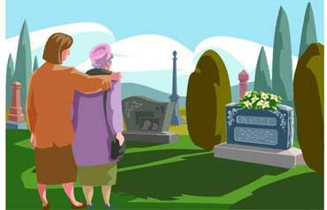 Visiting a Graveyard