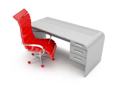 Desk with Swivel Chair