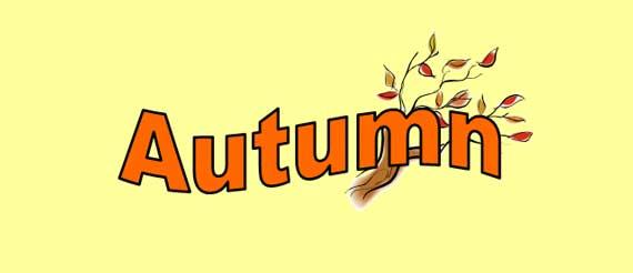 Autumn Lesson Banner