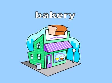 Bakery with a Picture of a Loaf of Bread