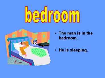 Man Sleeping in the Bedroom