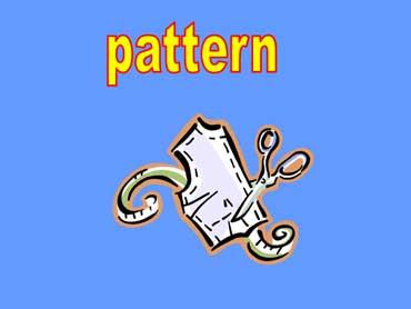 Pattern, Scissors, Tape Measure