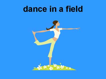 Dance in a Field of Flowers