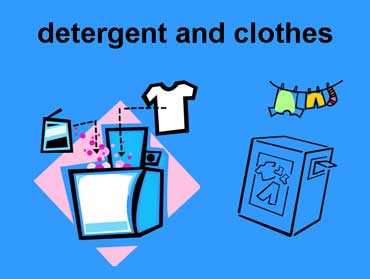 Laundry Detergent and Washing Machine