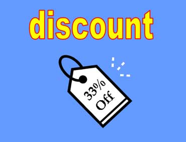 33 Percent Discount - Sale Tag