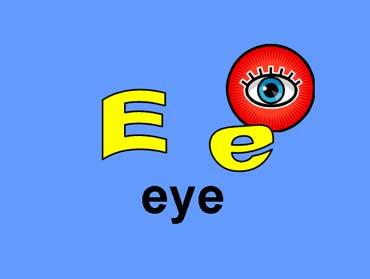 E e - Eye