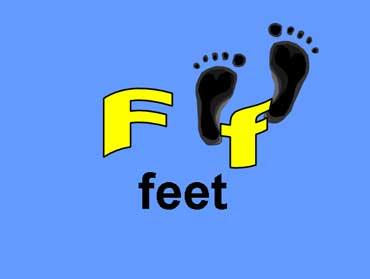 F f - Feet