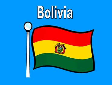 Flag of Bolivia - South America