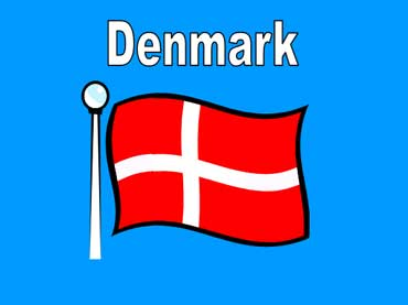 Flag of Denmark - Europe
