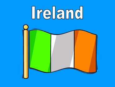 Flag of Ireland - Europe