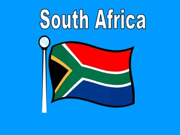 Flag of South Africa - Africa
