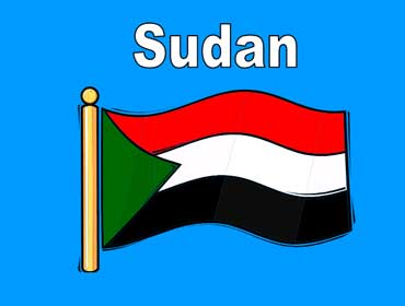 Flag of Sudan - Africa