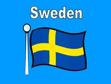 Flag of Sweden - Europe