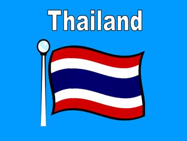 Flag of Thailand - Asia