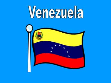 Flag of Venezuela - South America