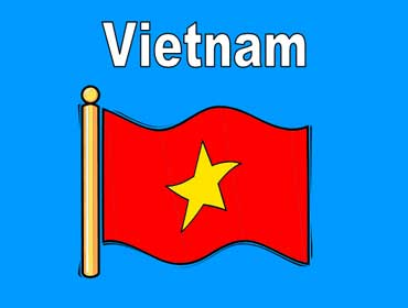 Flag of Vietnam - Asia