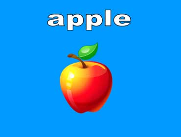 Apples are Red, Green, or Yellow