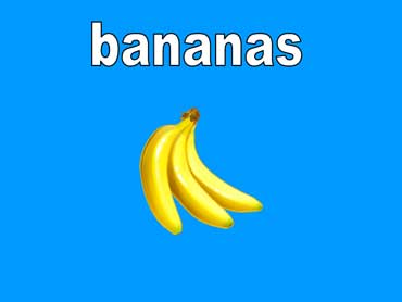 Bananas Turn From Green to Yellow