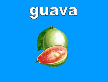 Guavas Are Pinkish Green
