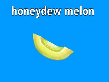 Honeydew Melons Are Light Green