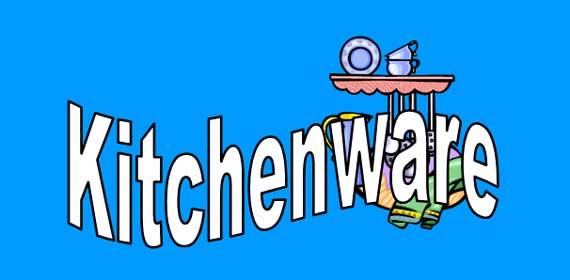Kitchenware Banner