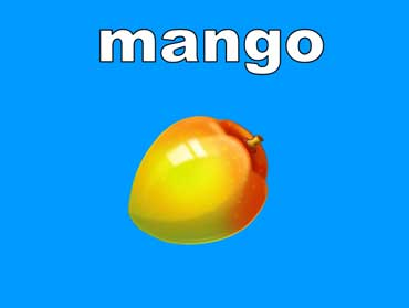 Mangoes Are Light Orange