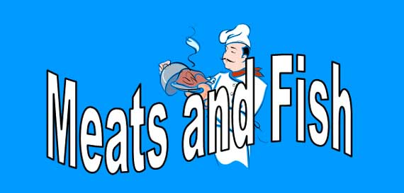 Meats and Fish Banner