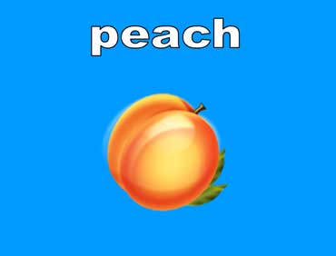 Peaches Are Light Orange