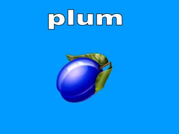 Plums Are Purple