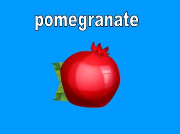 Pomegranates Are Red