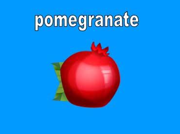 Pomegranates Are Red
