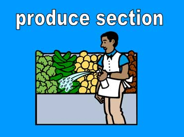 Produce Section