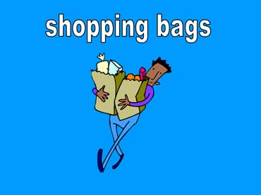 Man Carrying Shopping Bags of Food