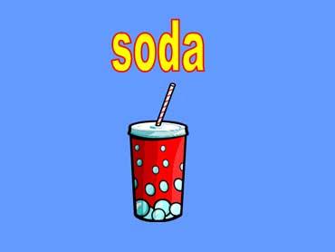 Soda with a Straw