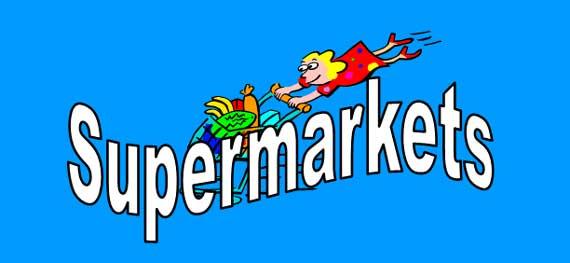 Supermarket Lesson Banner