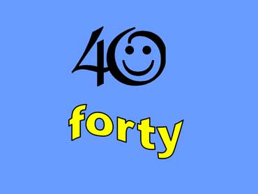 40 - forty