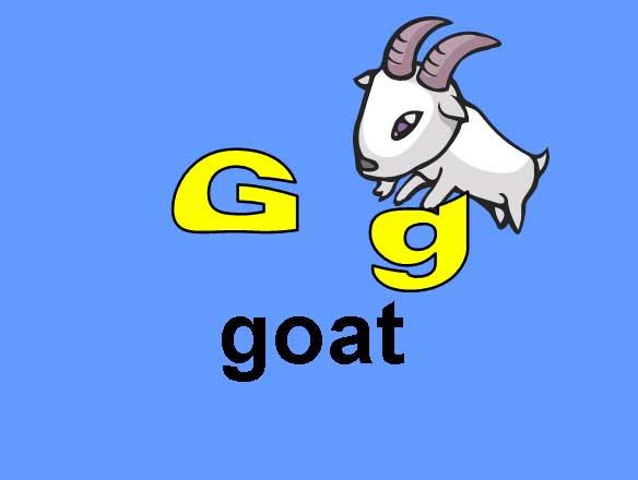 G g - Goat