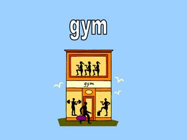 People Working Out at the Gym