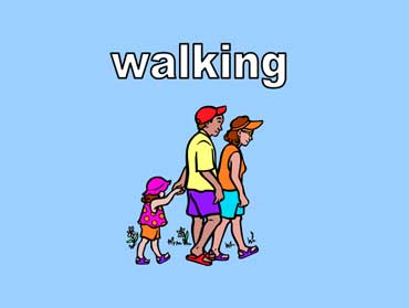 Family Members Walking Together