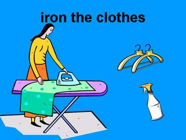 Iron the Clothes